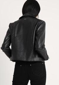 Pepe Jeans - OLGA - Faux leather jacket - black - 2