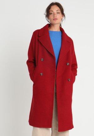EDURNE - Wollmantel/klassischer Mantel - garnet