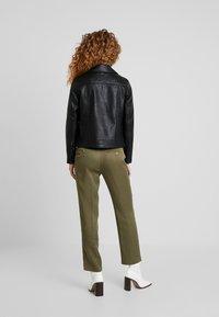 Pepe Jeans - POSSEY - Imitatieleren jas - black - 2