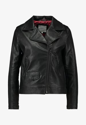 POSSEY - Faux leather jacket - black