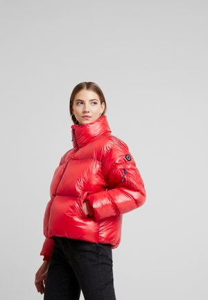 CLAIRE - Winter jacket - lipstick red