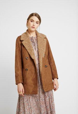 PATRICIA - Short coat - tan