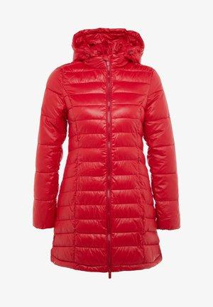 ALICE - Halflange jas - berry red