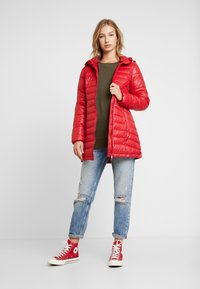 Pepe Jeans - ALICE - Short coat - berry red - 1