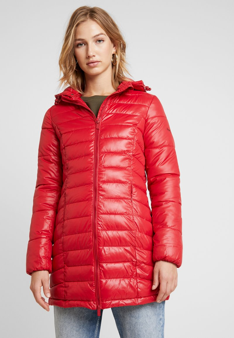 Pepe Jeans - ALICE - Short coat - berry red