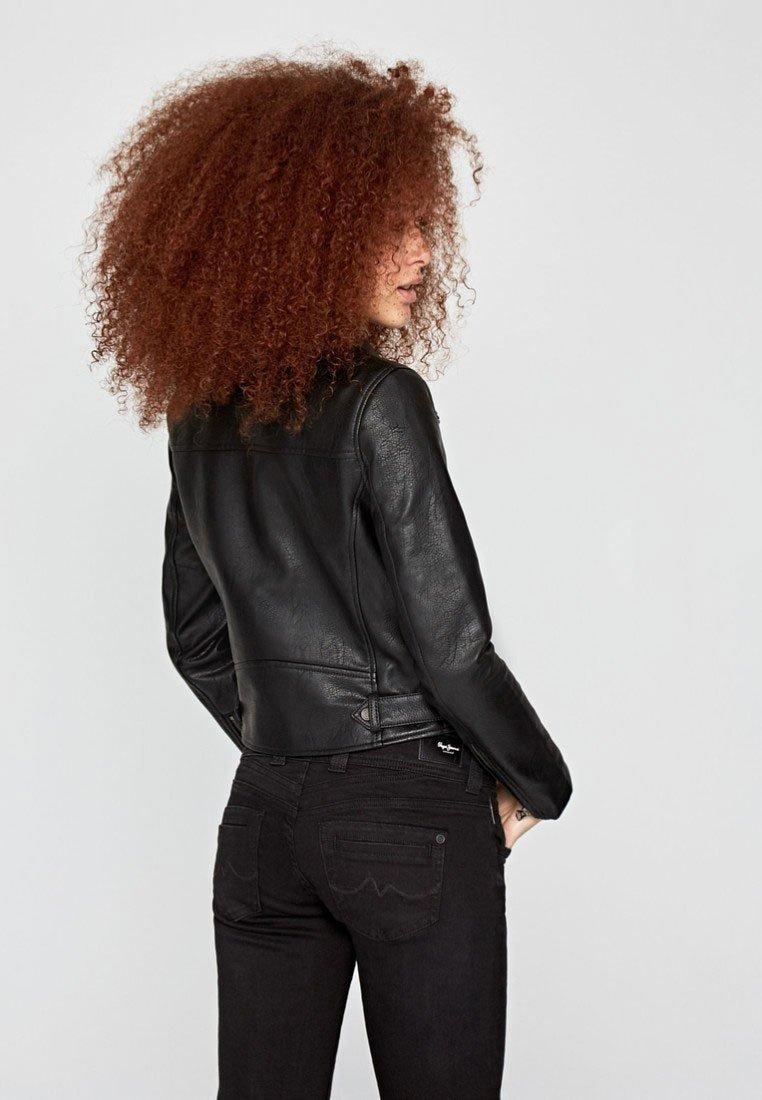 Pepe Jeans - LETITIA - Kunstlederjacke - black