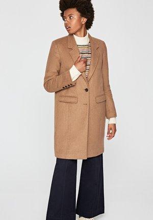RORY - Classic coat - camel