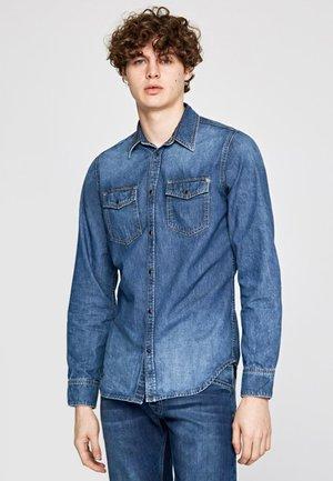 HAMMOND - Shirt - blue denim