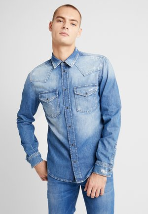 NOAH - Camisa - blue denim