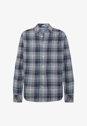 CLARK - Camisa - mottled grey