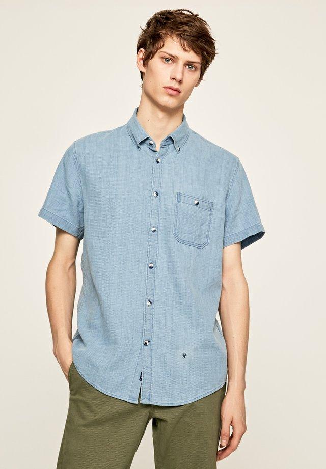 IRVIN - Camisa - indigo blau