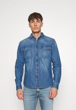 NOAH - Shirt - blue denim