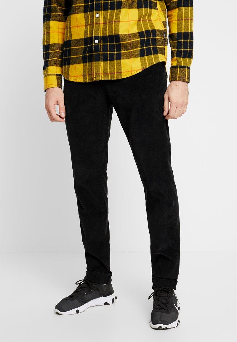 Pepe Jeans - BARTAK - Trousers - black