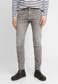 Pepe Jeans - JAMES - Jeansy Slim Fit - grey - 0