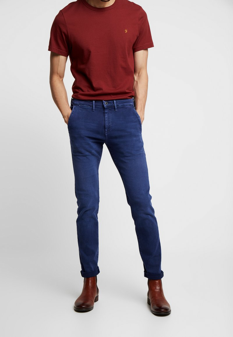 Pepe Jeans - JAMES - Jeansy Slim Fit - thames