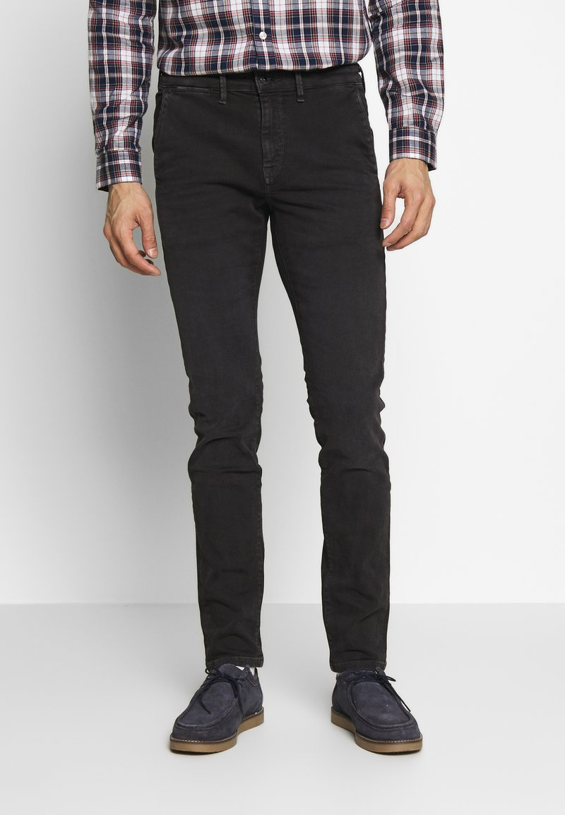 Pepe Jeans - JAMES - Jeansy Slim Fit - charcoal