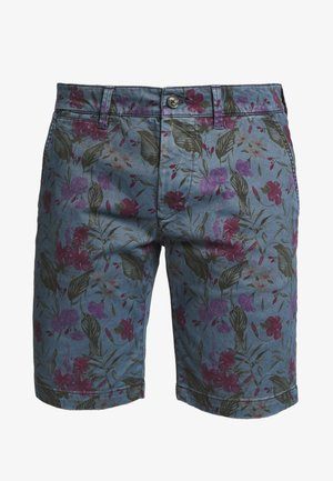 MC QUEEN FLORAL - Short - blue