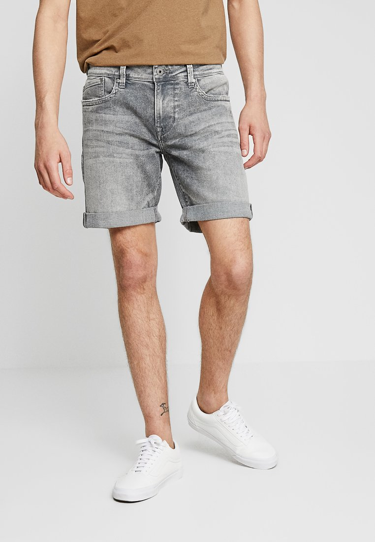Pepe Jeans - HATCH - Denim shorts - grey used