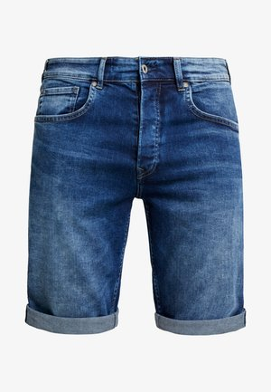 CALLEN - Jeans Shorts - archive dark used