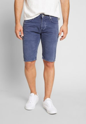 STANLEY - Shorts di jeans - steel blue