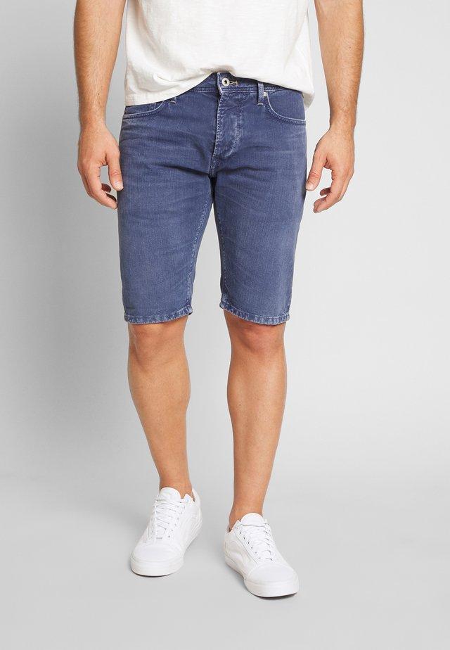 STANLEY - Szorty jeansowe - steel blue