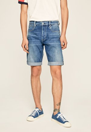 CALLEN - Shorts di jeans - blue denim