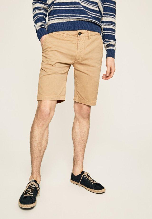 MC QUEEN  - Pantalones chinos - khaki braun