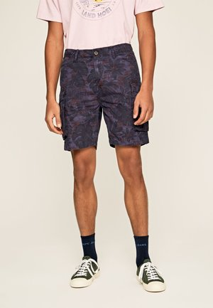 PALM - Shorts - alt blau