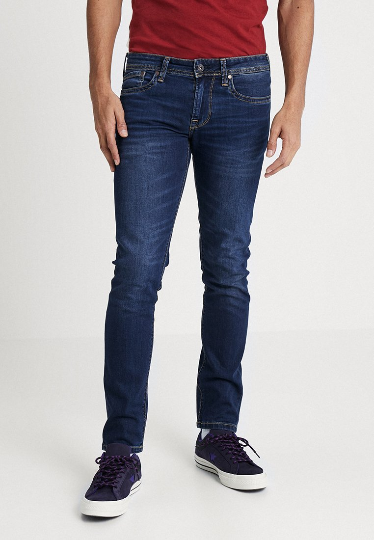 Pepe Jeans - HATCH - Vaqueros slim fit - 000denim