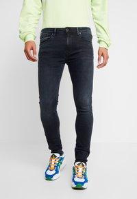 Pepe Jeans - NICKEL - Jeans Skinny Fit - black used - 0