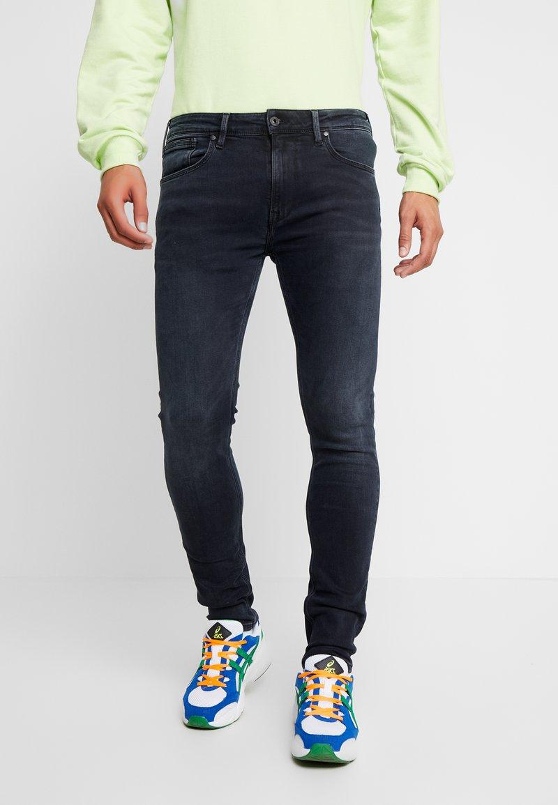 Pepe Jeans - NICKEL - Jeans Skinny Fit - black used