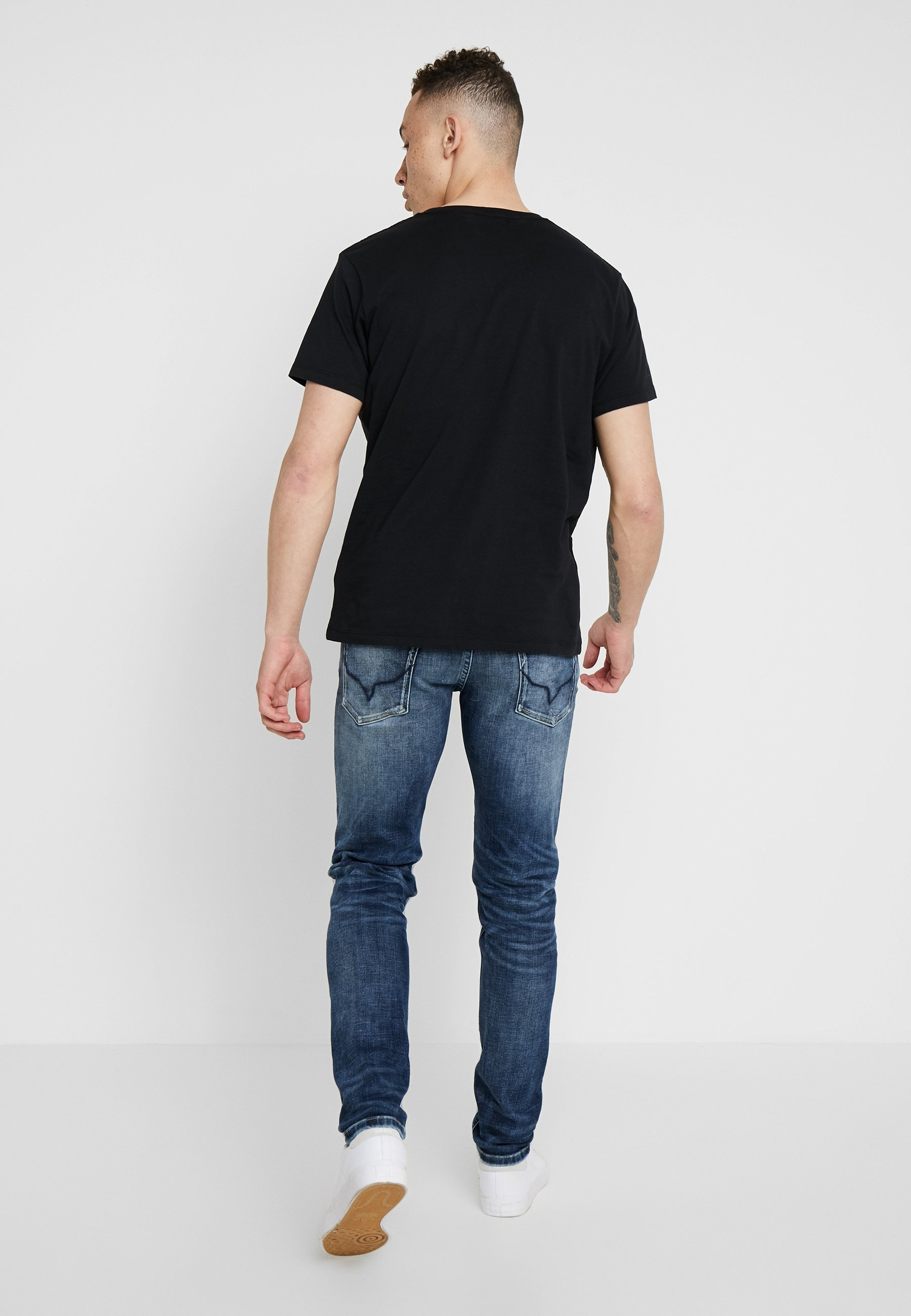 HatchSlim Dark Pepe Fit Used Jeans Nny0vOm8w