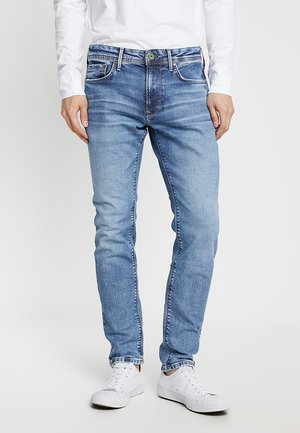 STANLEY - Jeans Tapered Fit - light used broken twill wiserwash