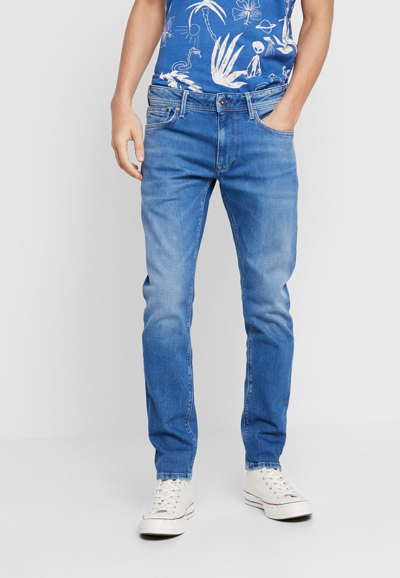 Pepe Jeans - STANLEY - Jeans Tapered Fit - denim