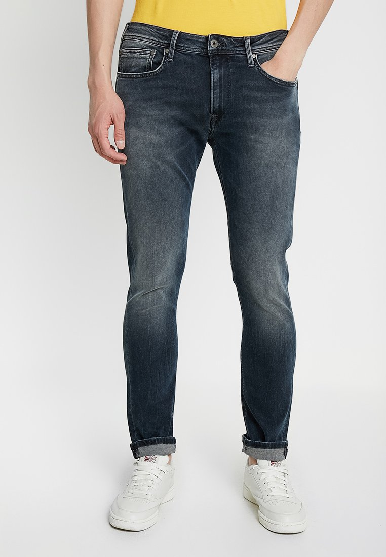 Pepe Jeans - STANLEY - Jeans Tapered Fit - black used