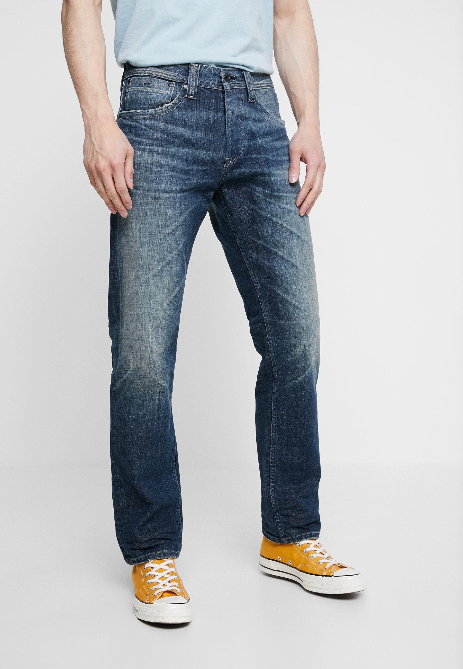 Blue CashJean Jeans Less Pepe Hydro Grey Droit vmNwyOnP80