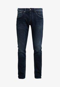 Pepe Jeans - TRACK - Straight leg jeans - black used gymdigo - 4