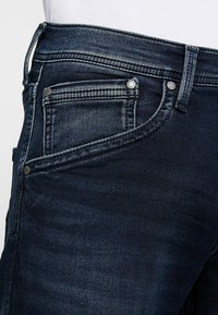 Pepe Jeans - TRACK - Straight leg jeans - black used gymdigo - 5