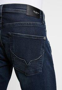 Pepe Jeans - TRACK - Straight leg jeans - black used gymdigo - 3