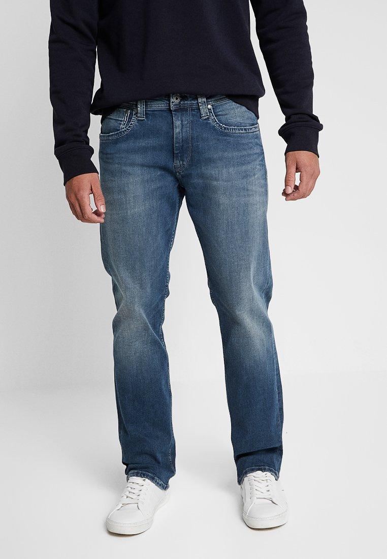 Pepe Jeans - KINGSTON  - Straight leg jeans - blue denim