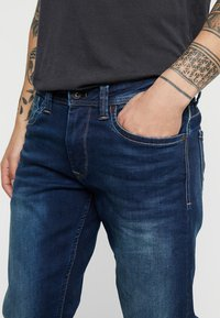 Pepe Jeans - KINGSTON  - Straight leg -farkut - dark-blue denim - 3