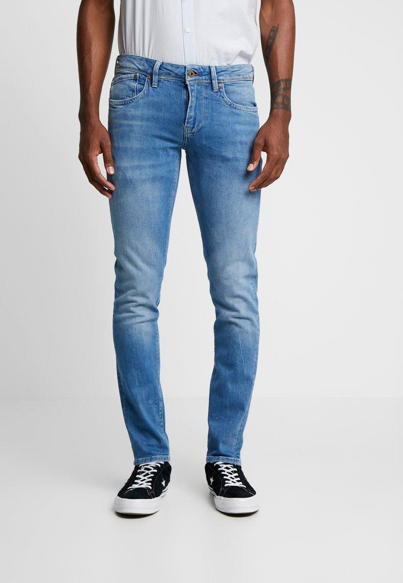 Pepe Jeans - HATCH - Vaqueros slim fit - blue denim