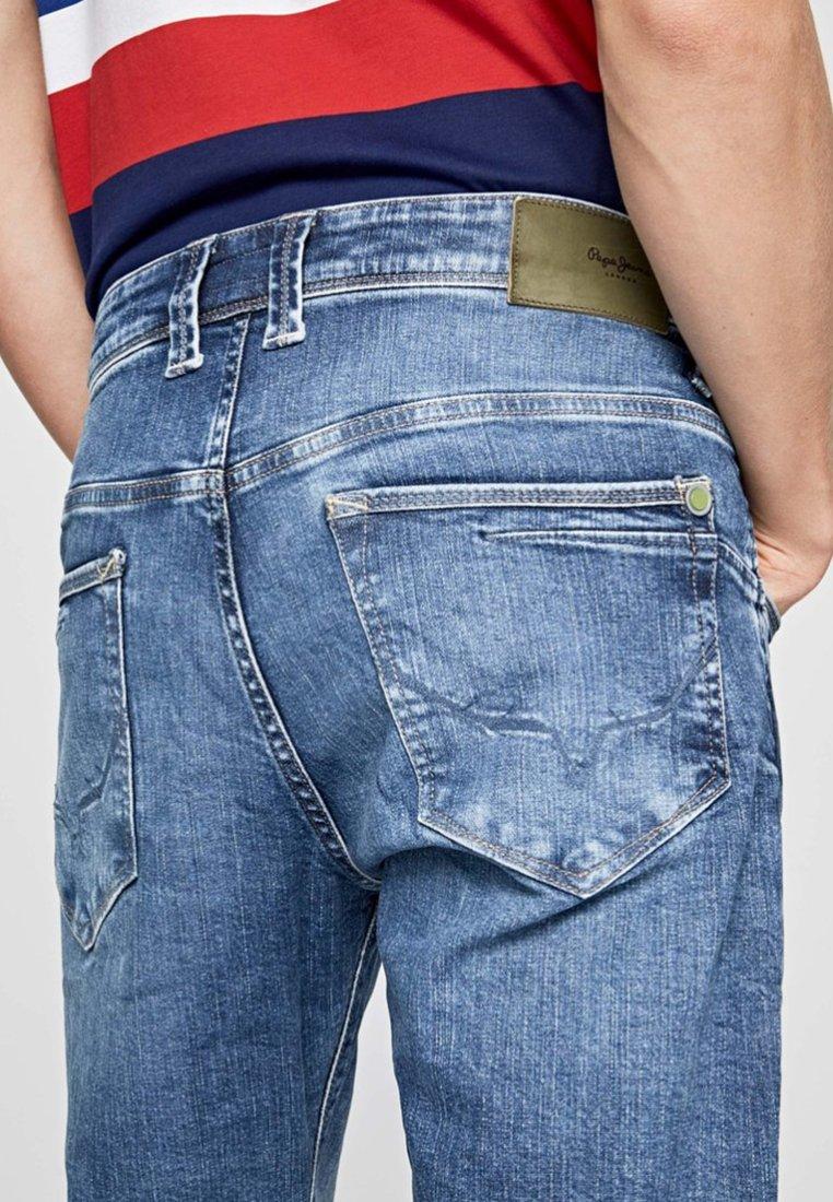 Droit Pepe Jeans Blue ZincJean Denim lKcT1FJ3