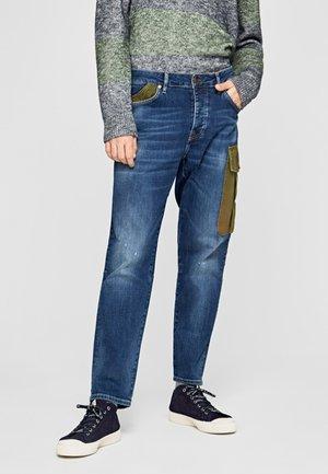 JARROD UTILITY - Straight leg jeans - blue denim