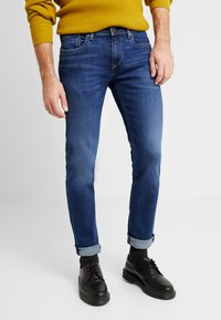 Pepe Jeans - HATCH - Jeansy Slim Fit - dark used - 0