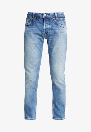 SPIKE - Jeansy Straight Leg - light blue denim