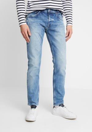 SPIKE - Džíny Straight Fit - light blue denim