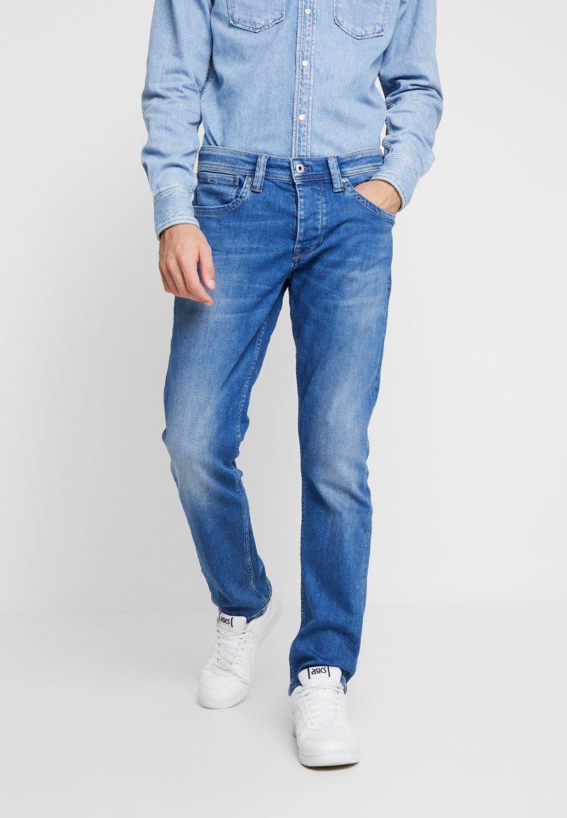 Pepe Jeans - CASH - Džíny Straight Fit - blue denim