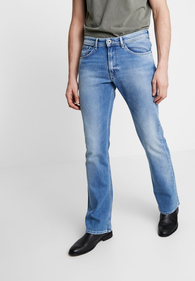 ALFIE - Jeans Bootcut - light used