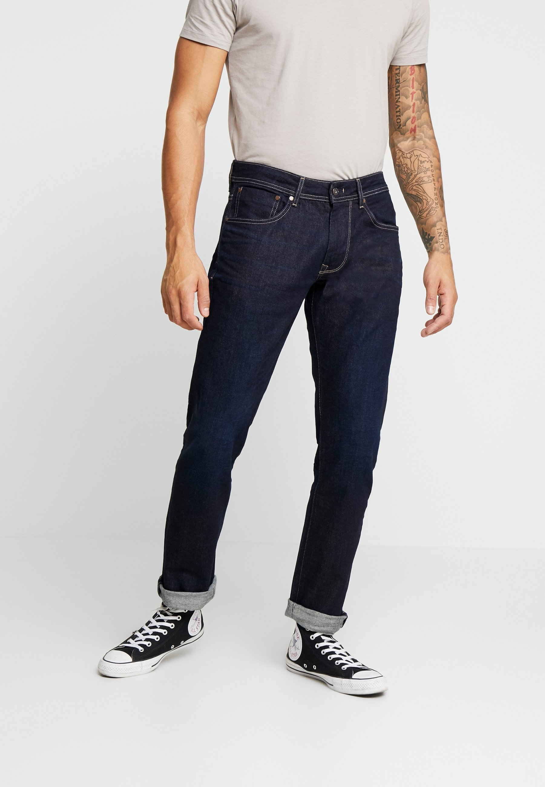 Pepe Jeans CASH - Jeansy Slim Fit - rinse